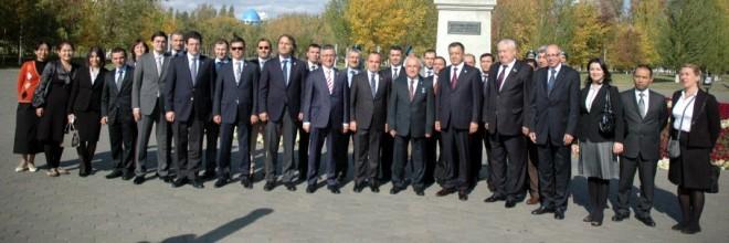 Meclis Başkanı ile Kazakistan Ziyareti
