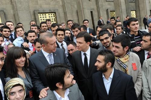 Başbakan ve Gençler Grup Toplantısı2