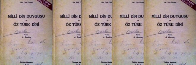 milli din duygusu ve öz türk dini