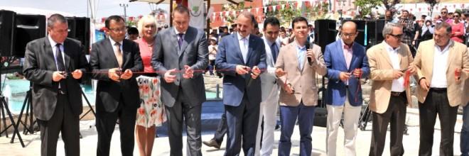 Kırım Sudak Parkı Mamak'ta Açıldı