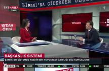"""TRT Haber """"10'dan Ötesi"""" programı 12 Mayıs 2015"""