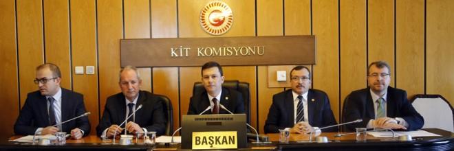 KİT Komisyonu Toplandı