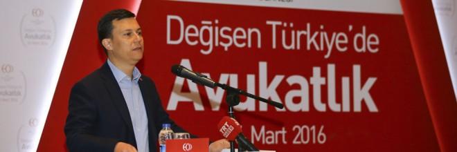 Değişen Türkiye'de Avukatlık Çalıştayı