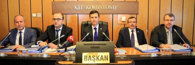 Kamu İktisadi Teşebbüsleri Komisyonu Toplandı