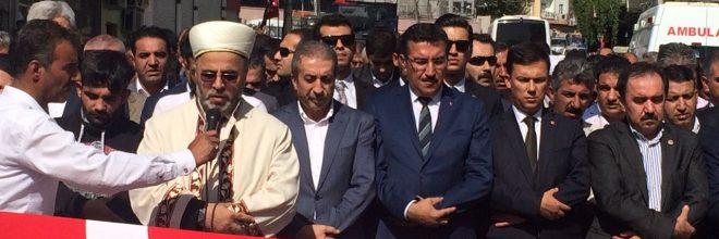 AK Parti Dicle İlçe Başkanı son yolculuğuna uğurlandı