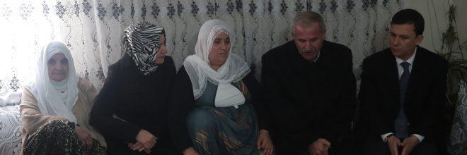 Şahin, Şırnak'ta