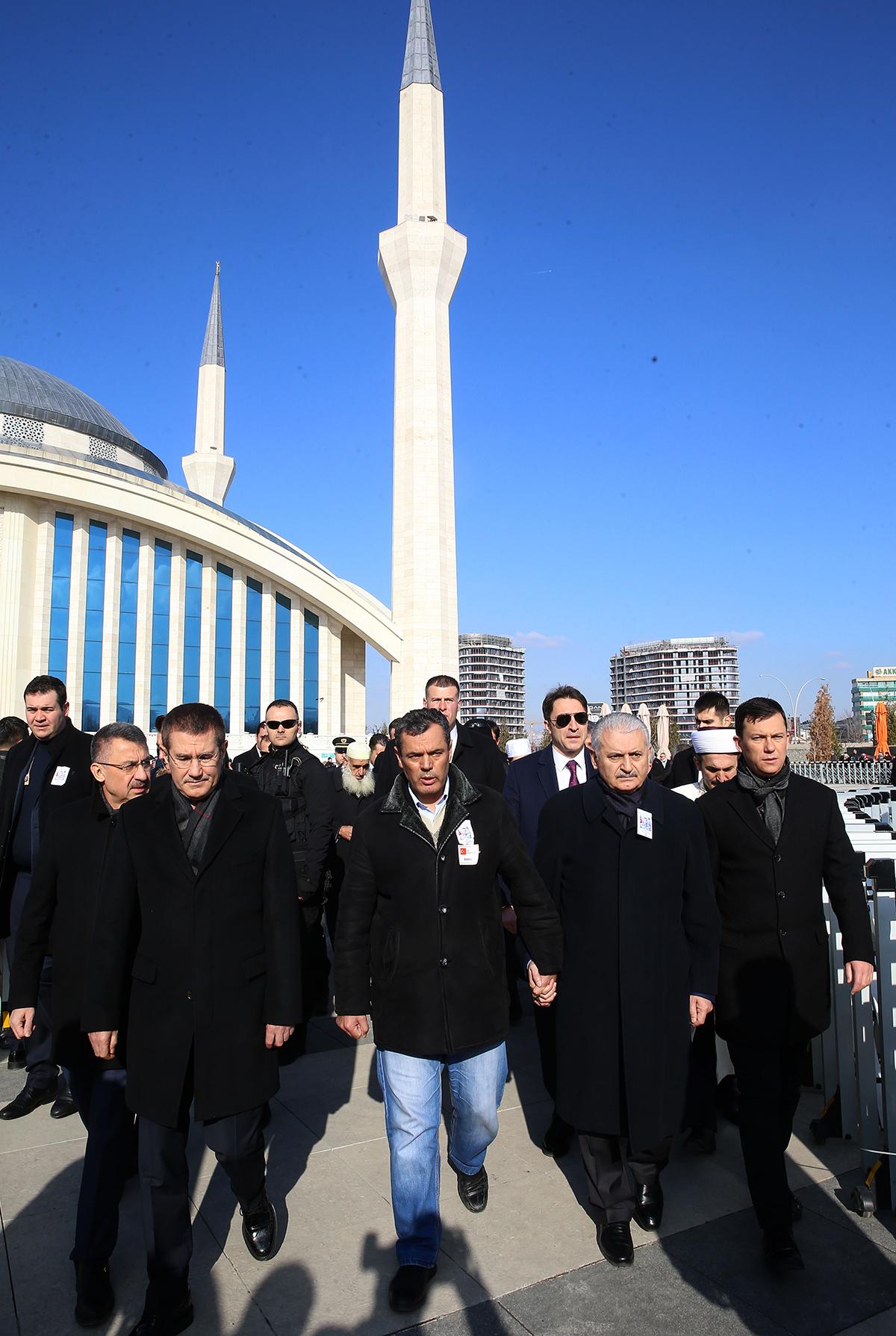 Kayseri'de düzenlenen terör saldırısında şehit olan 21 ya