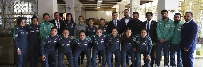 İşitme Engelliler Futsal Takımıyla Buluşma