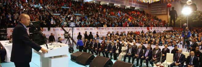 'AK Parti ve Türkiye bütün mazlum milletlerin umududur'