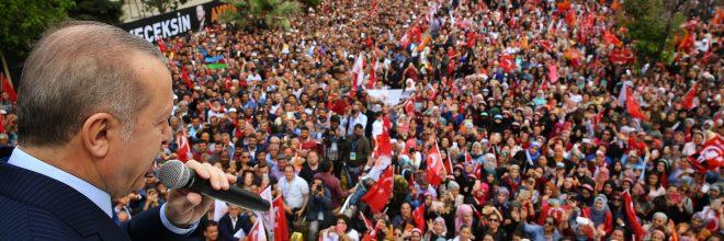 """""""AK Partili olmak demek lideri gibi dimdik durmak demektir"""""""