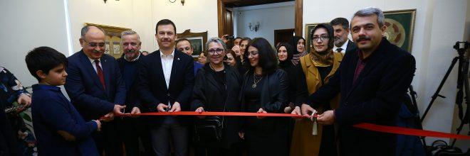 """""""Seyr-i Aşk"""" tezhip sergisi başkentte açıldı"""