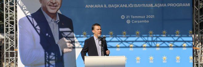 AK Parti Ankara İl Teşkilatı bayramlaştı