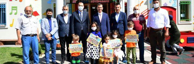 Şahin, Altındağ'da ziyaretlerde bulundu
