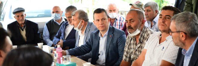 AK Parti'den Yalçın ailesine taziye ziyareti